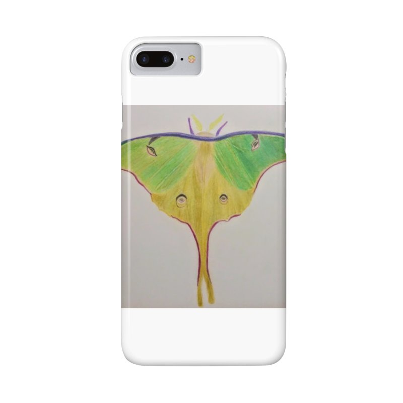 Luna Moth Accessories Phone Case by Whimsical Wildlife Wares