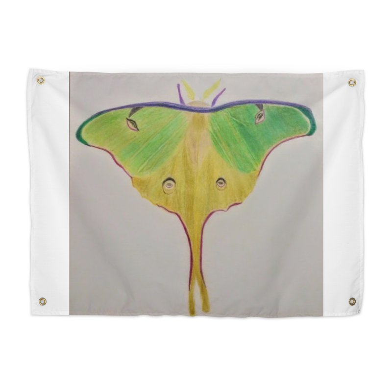 Luna Moth Home Tapestry by Whimsical Wildlife Wares