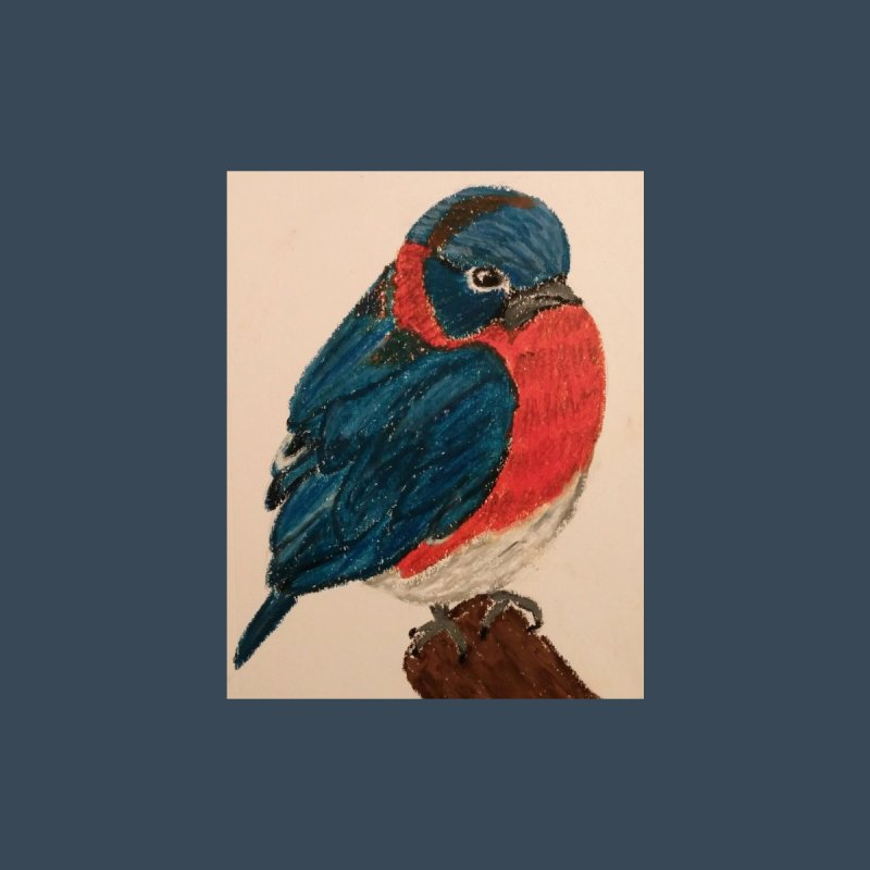 Grumpy Bluebird by Whimsical Wildlife Wares