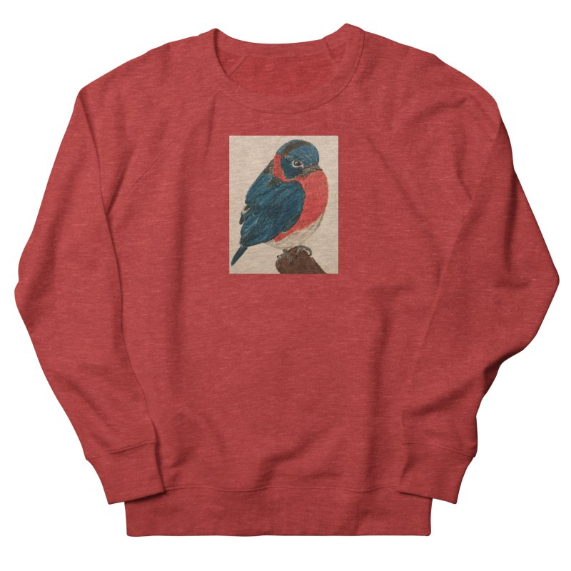 Grumpy Bluebird Women's Sweatshirt by Whimsical Wildlife Wares