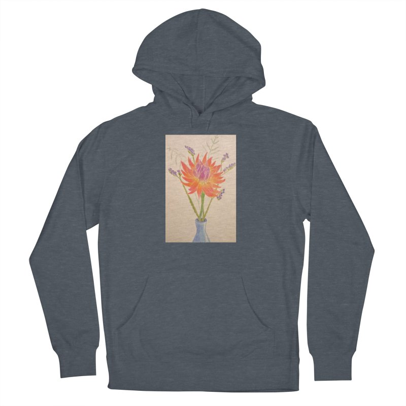 Flowers Women's Pullover Hoody by Whimsical Wildlife Wares