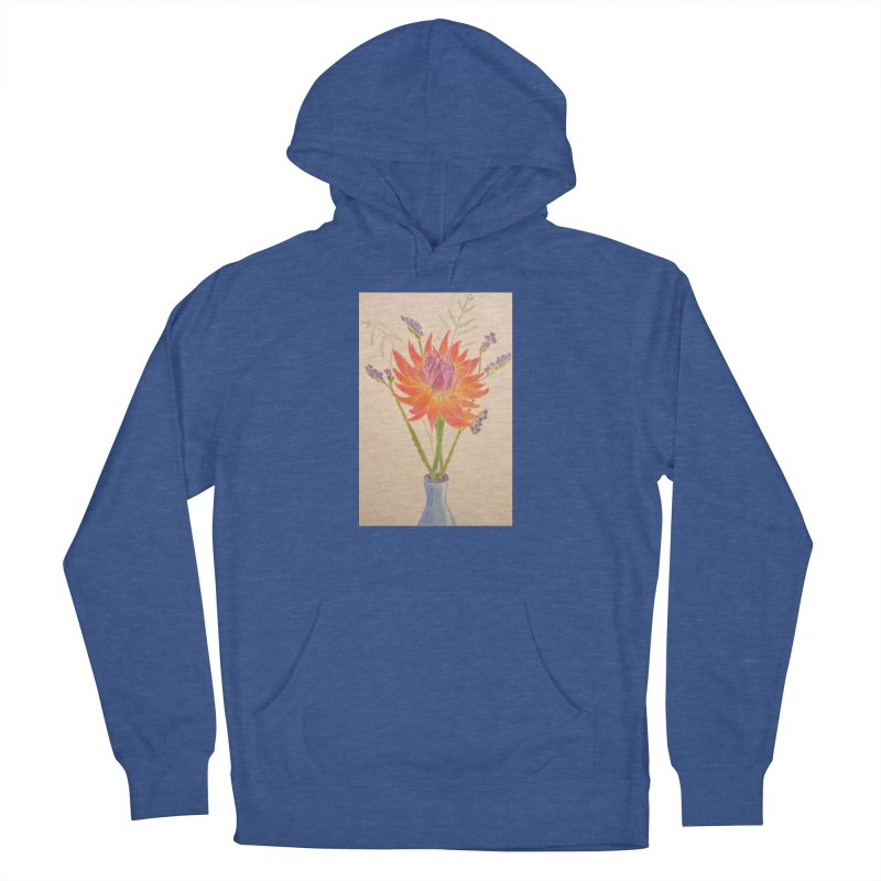 Flowers Men's Pullover Hoody by Whimsical Wildlife Wares