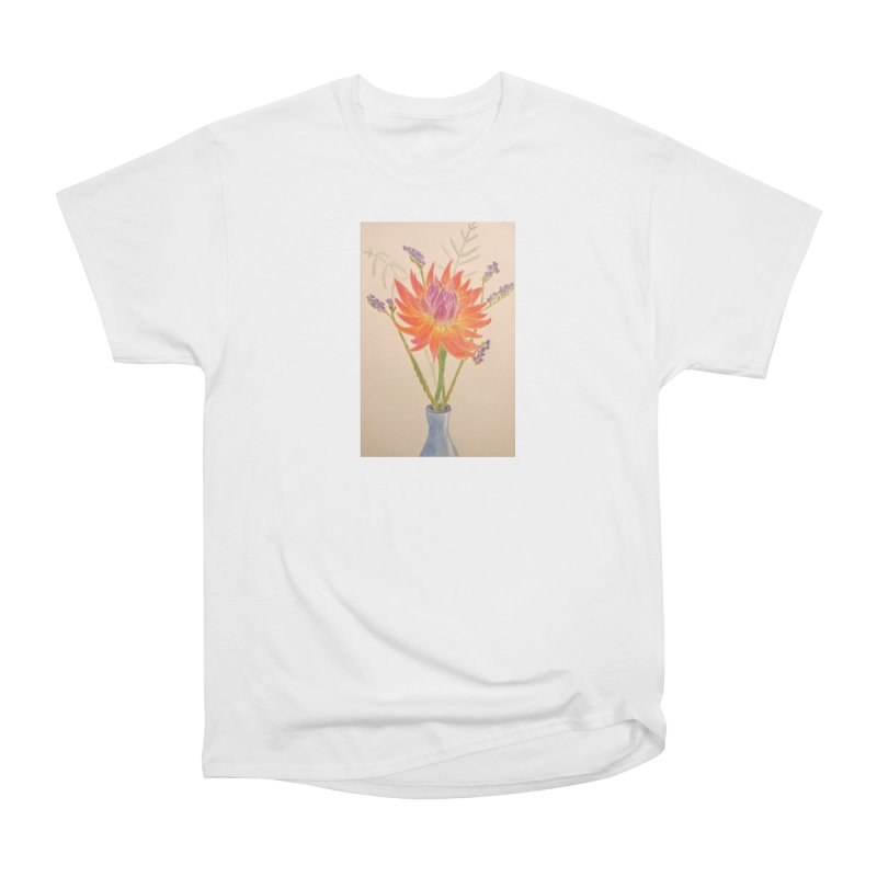 Flowers Women's Classic Unisex T-Shirt by Whimsical Wildlife Wares