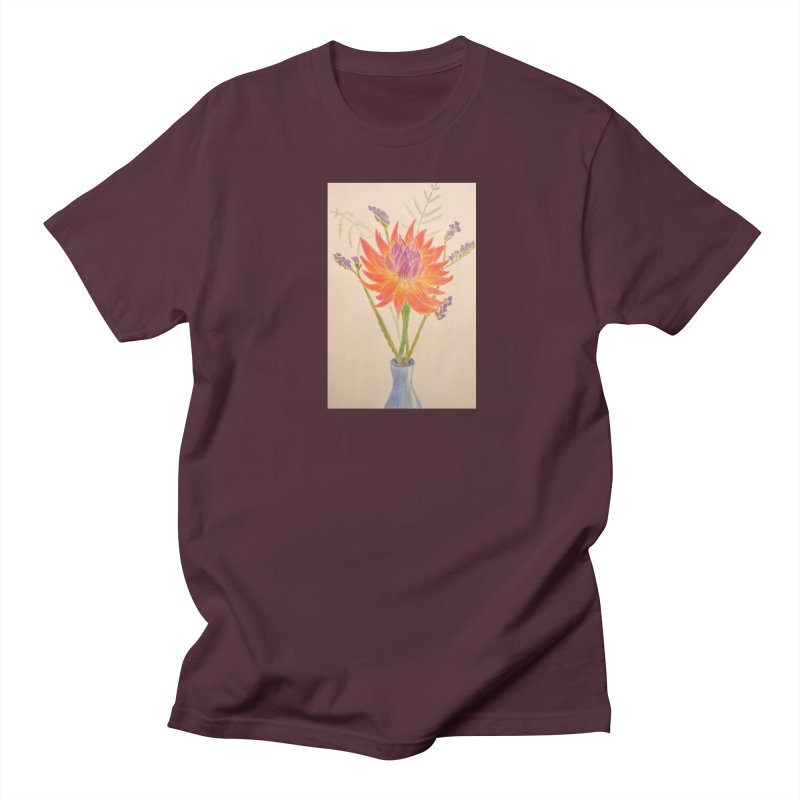 Flowers Men's T-shirt by Whimsical Wildlife Wares