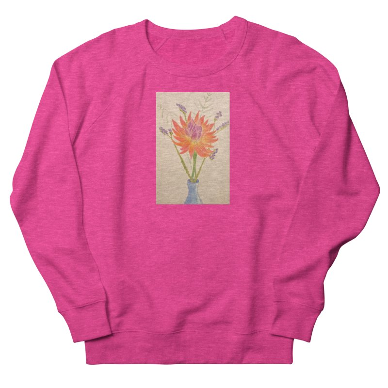 Flowers Men's Sweatshirt by Whimsical Wildlife Wares