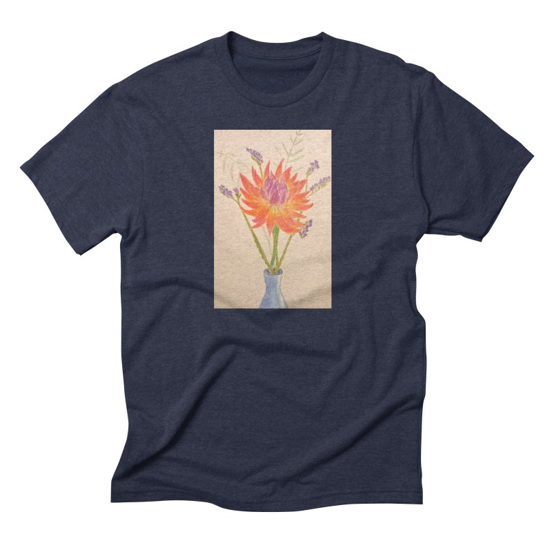 Flowers Men's Triblend T-shirt by Whimsical Wildlife Wares