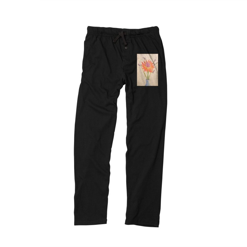 Flowers Women's Lounge Pants by Whimsical Wildlife Wares