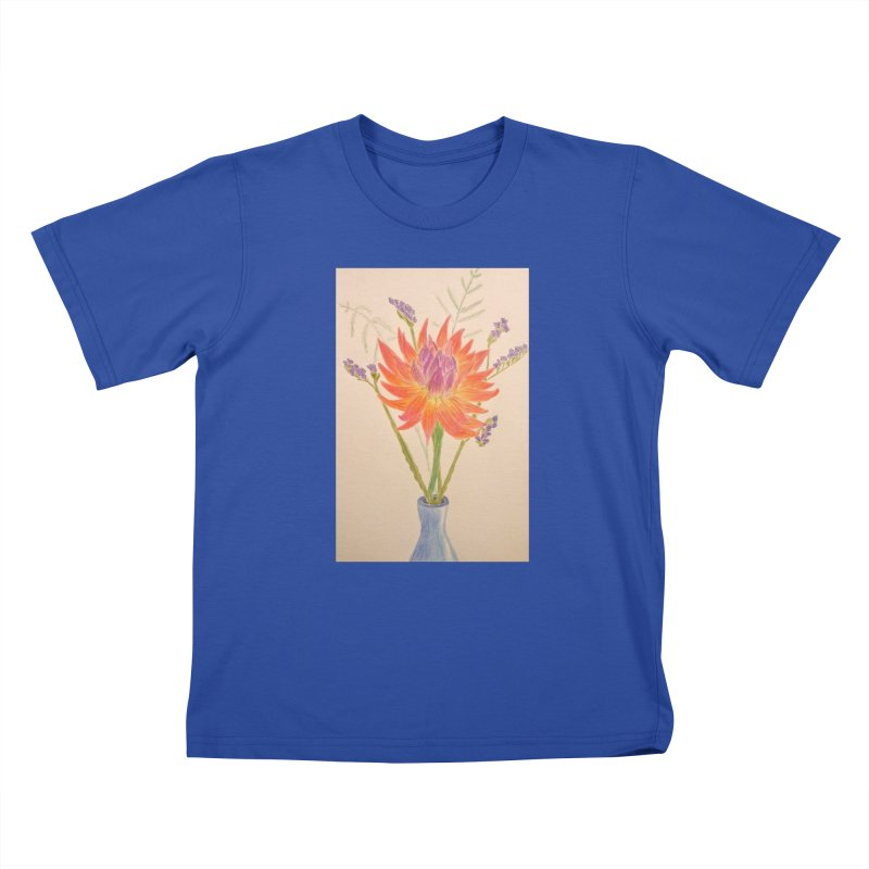 Flowers Kids T-shirt by Whimsical Wildlife Wares