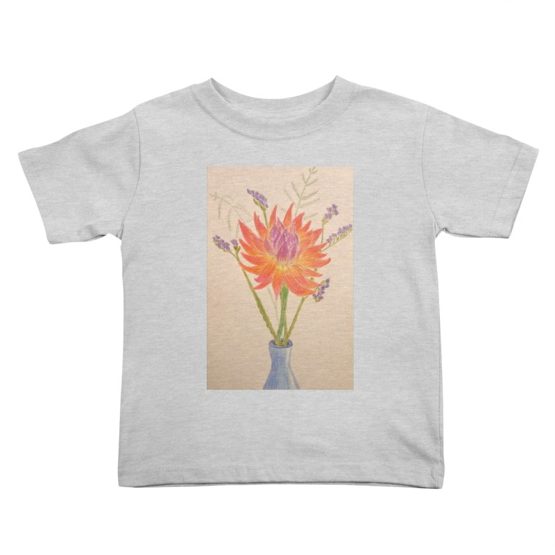 Flowers Kids Toddler T-Shirt by Whimsical Wildlife Wares