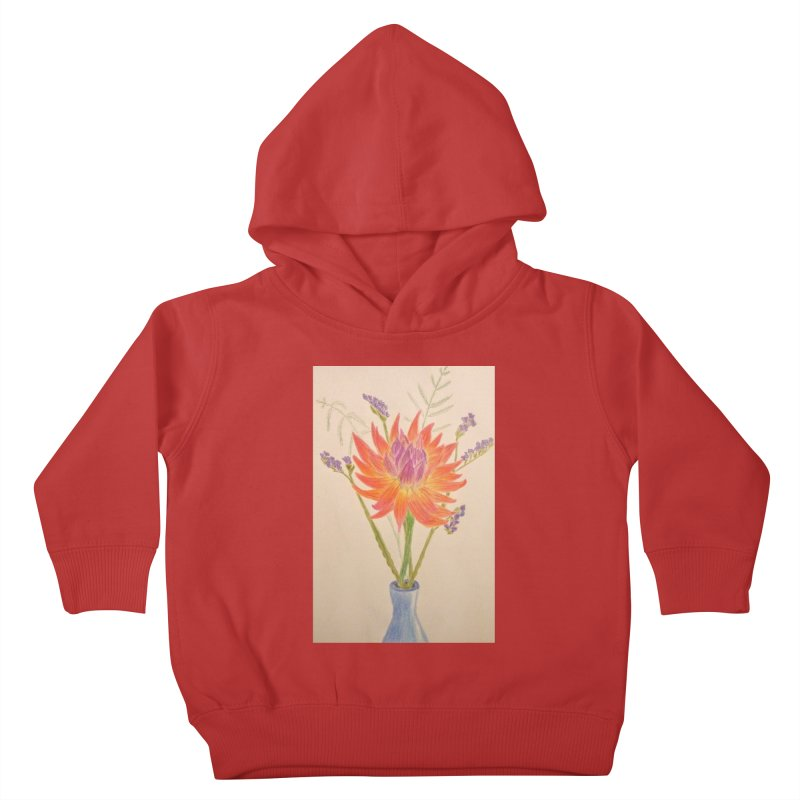 Flowers Kids Toddler Pullover Hoody by Whimsical Wildlife Wares
