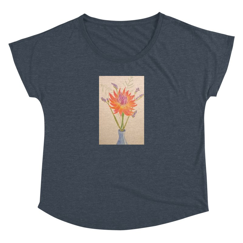 Flowers Women's Dolman by Whimsical Wildlife Wares