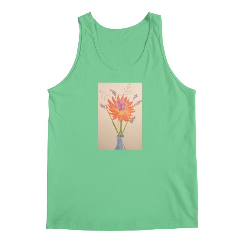Flowers Men's Tank by Whimsical Wildlife Wares