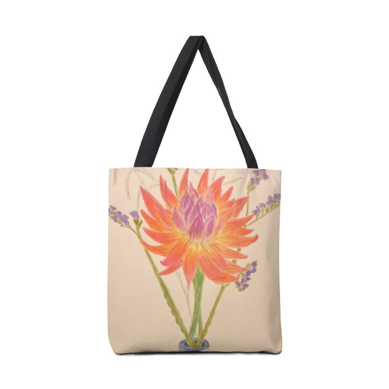 Flowers Accessories Bag by Whimsical Wildlife Wares