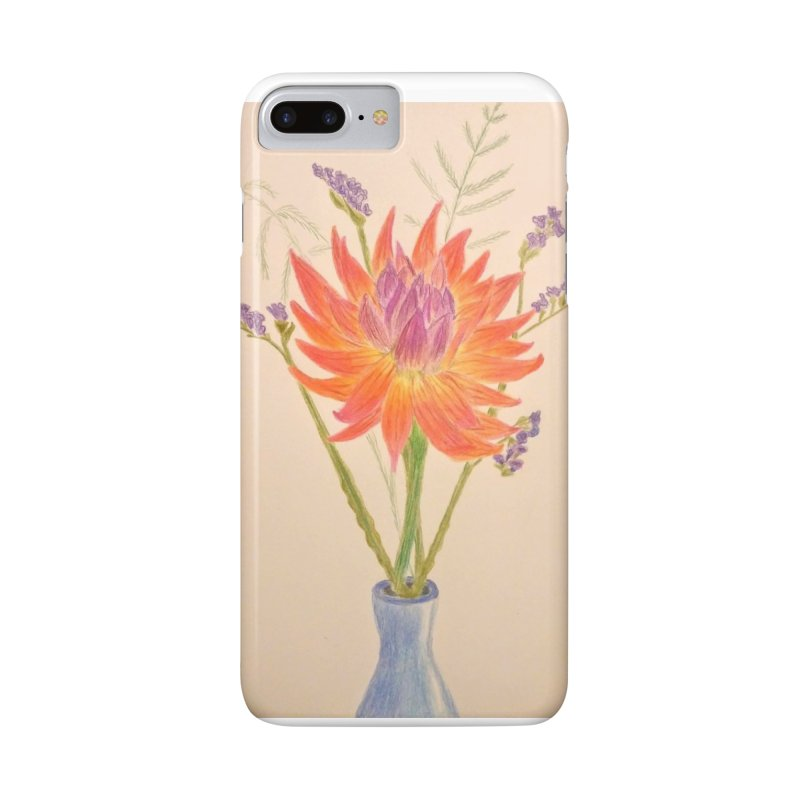 Flowers Accessories Phone Case by Whimsical Wildlife Wares