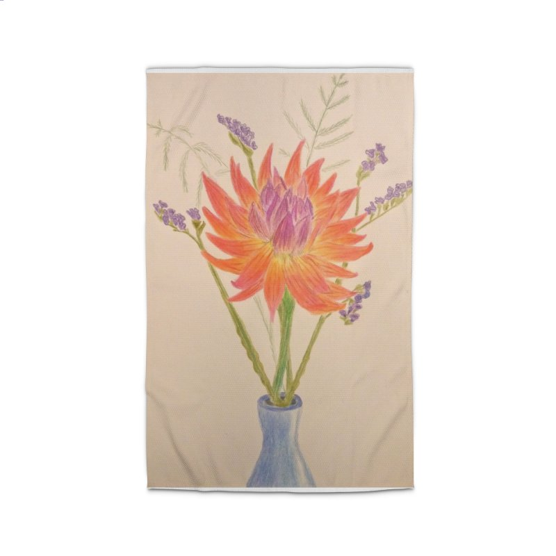 Flowers Home Rug by Whimsical Wildlife Wares