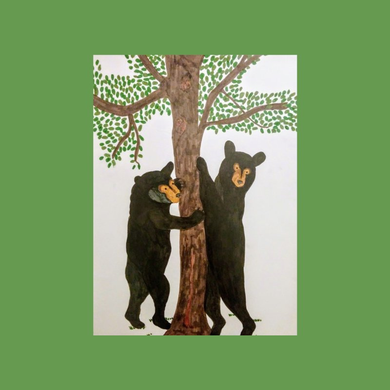 Black Bears None  by Whimsical Wildlife Wares