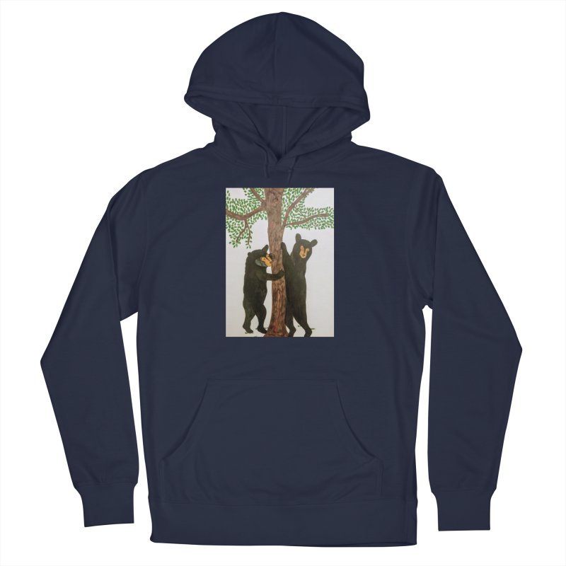 Black Bears Men's Pullover Hoody by Whimsical Wildlife Wares