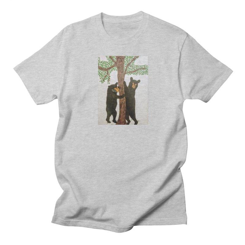 Black Bears Men's T-shirt by Whimsical Wildlife Wares