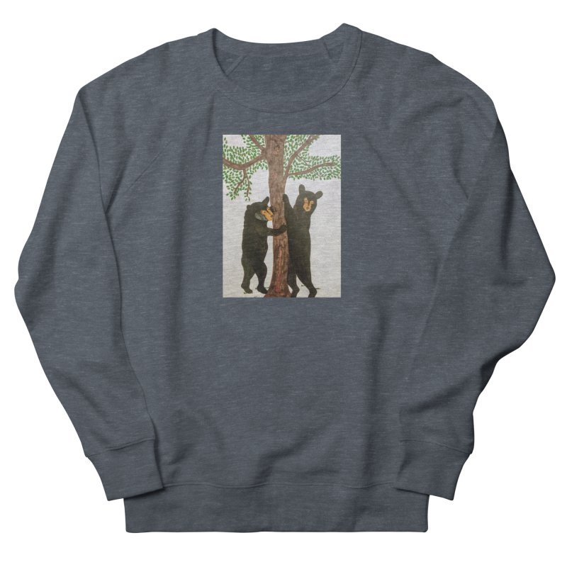 Black Bears Men's Sweatshirt by Whimsical Wildlife Wares