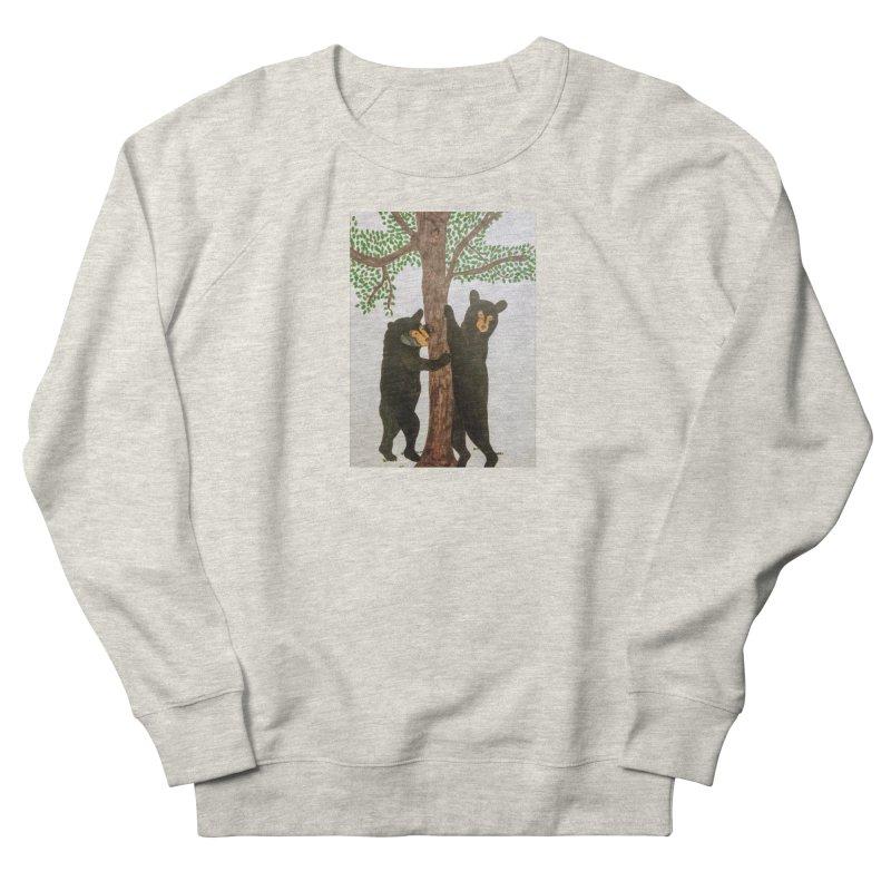 Black Bears Men's Sweatshirt by Whimsical Wildlife Wares