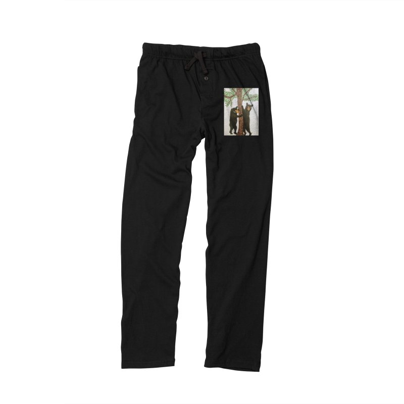 Black Bears Men's Lounge Pants by Whimsical Wildlife Wares