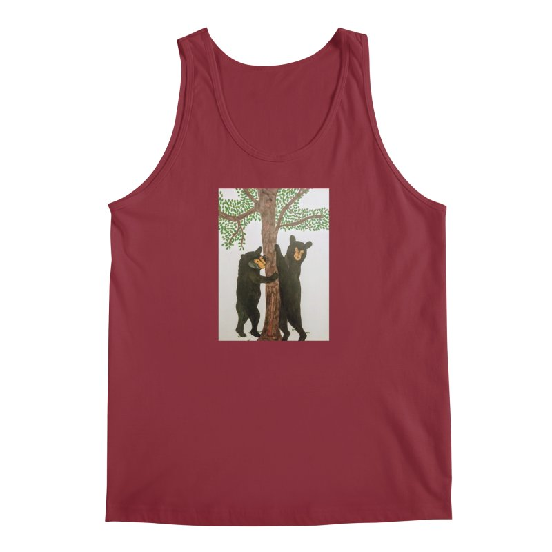 Black Bears Men's Tank by Whimsical Wildlife Wares