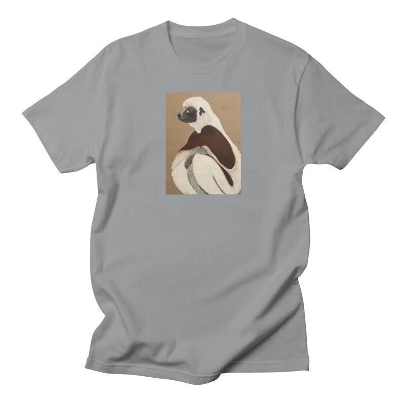 Pensive Sifaka Men's T-shirt by Whimsical Wildlife Wares