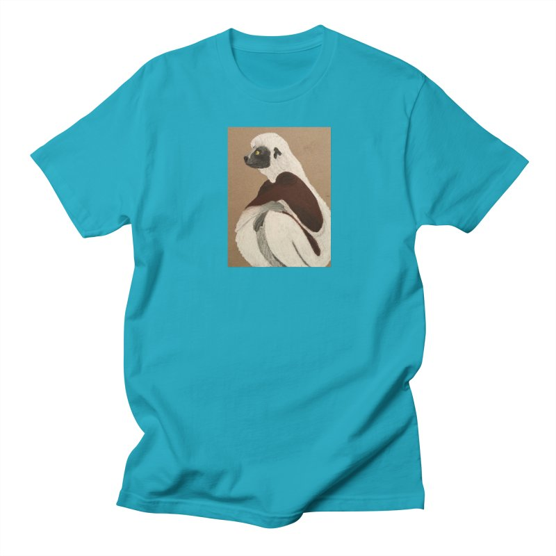 Pensive Sifaka Women's Unisex T-Shirt by Whimsical Wildlife Wares
