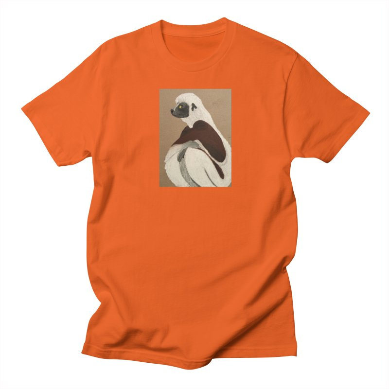 Pensive Sifaka Women's Unisex T-Shirt by Whimsical Wildlife Wares