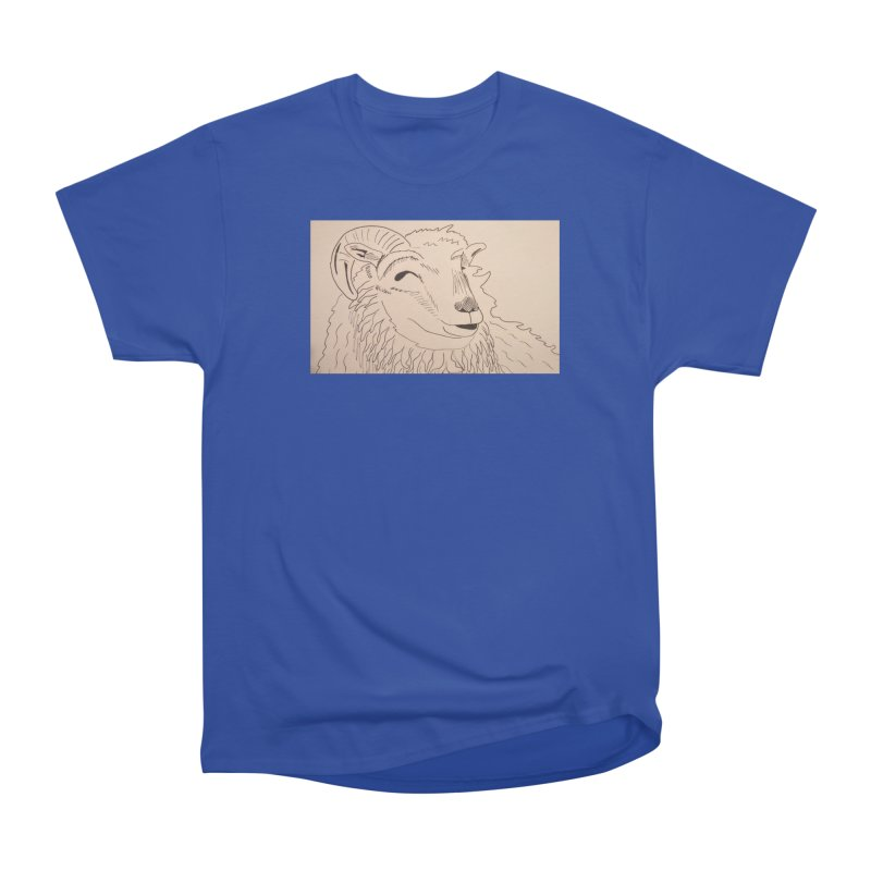Ram Men's Classic T-Shirt by Whimsical Wildlife Wares