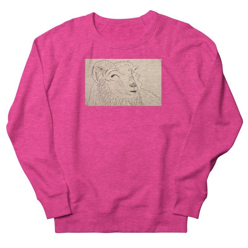 Ram Women's Sweatshirt by Whimsical Wildlife Wares