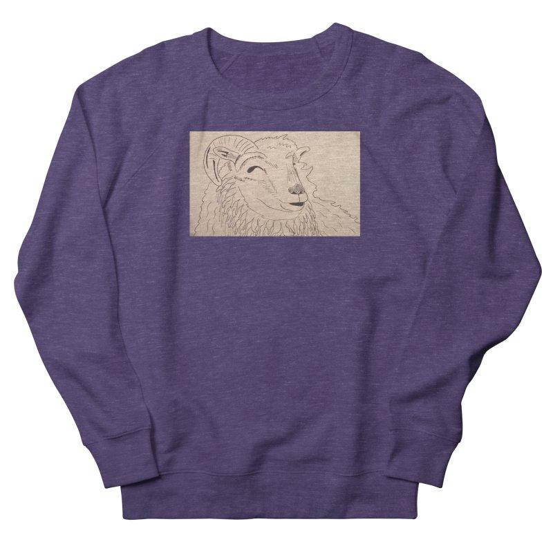 Ram Men's Sweatshirt by Whimsical Wildlife Wares