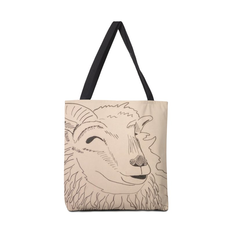 Ram Accessories Bag by Whimsical Wildlife Wares