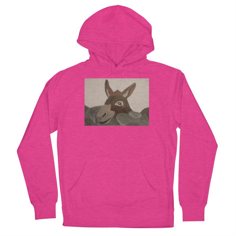 Donkey Women's Pullover Hoody by Whimsical Wildlife Wares