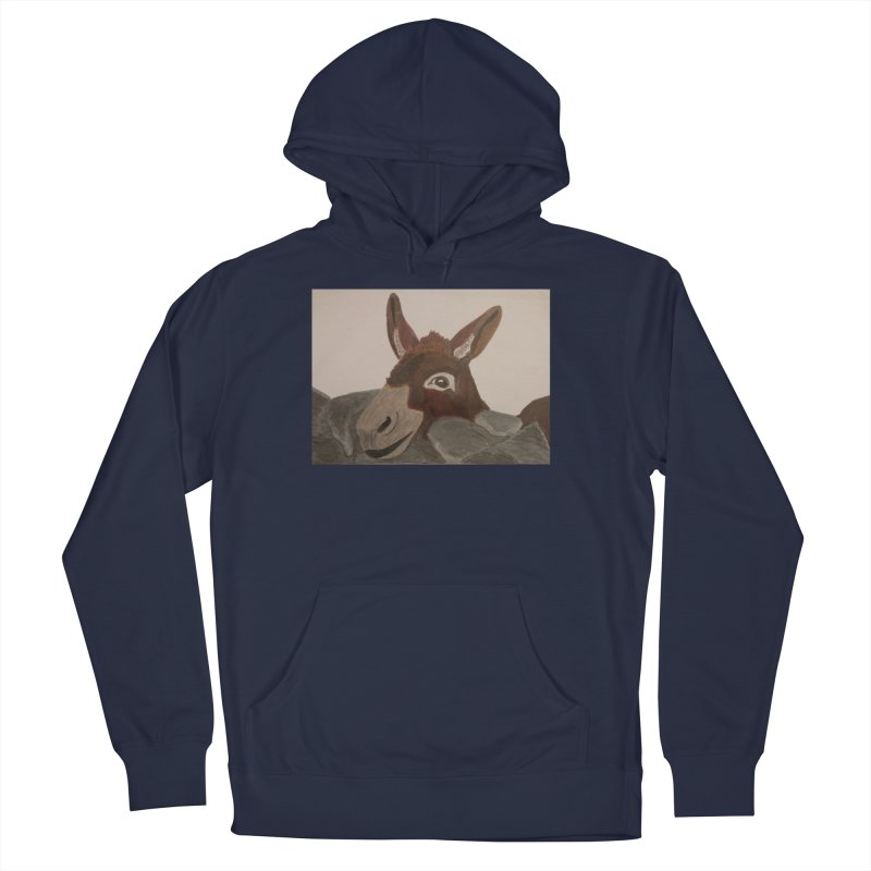 Donkey Men's Pullover Hoody by Whimsical Wildlife Wares