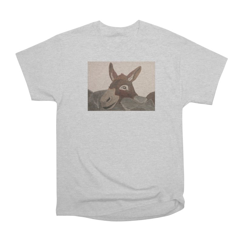 Donkey Men's Classic T-Shirt by Whimsical Wildlife Wares