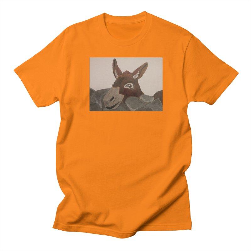 Donkey Women's Unisex T-Shirt by Whimsical Wildlife Wares