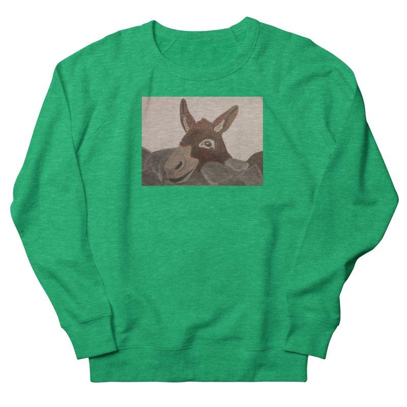 Donkey Men's Sweatshirt by Whimsical Wildlife Wares