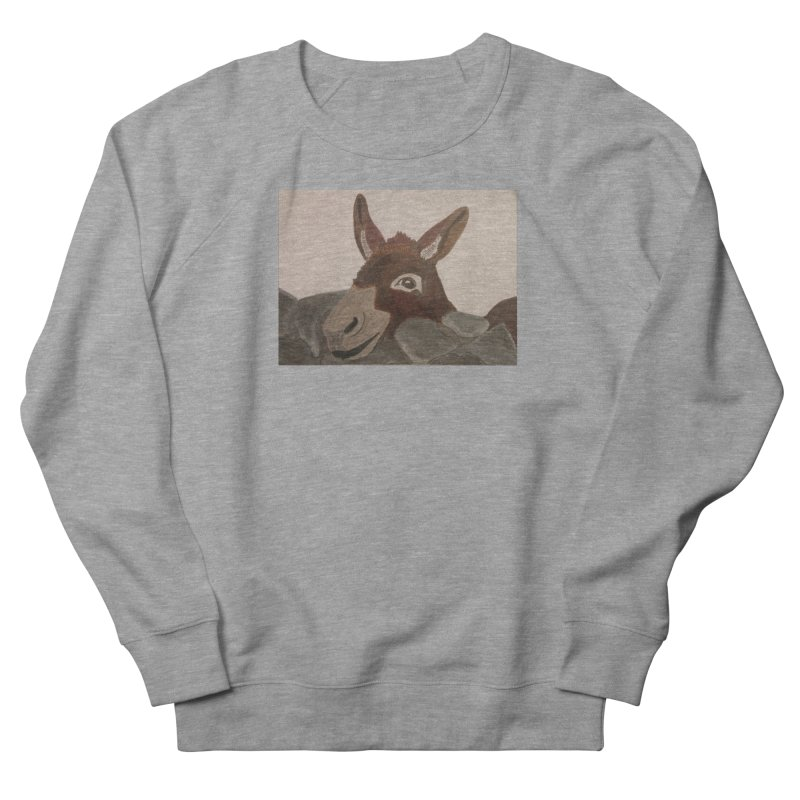 Donkey Men's Sweatshirt by Whimsical Wildlife Wares