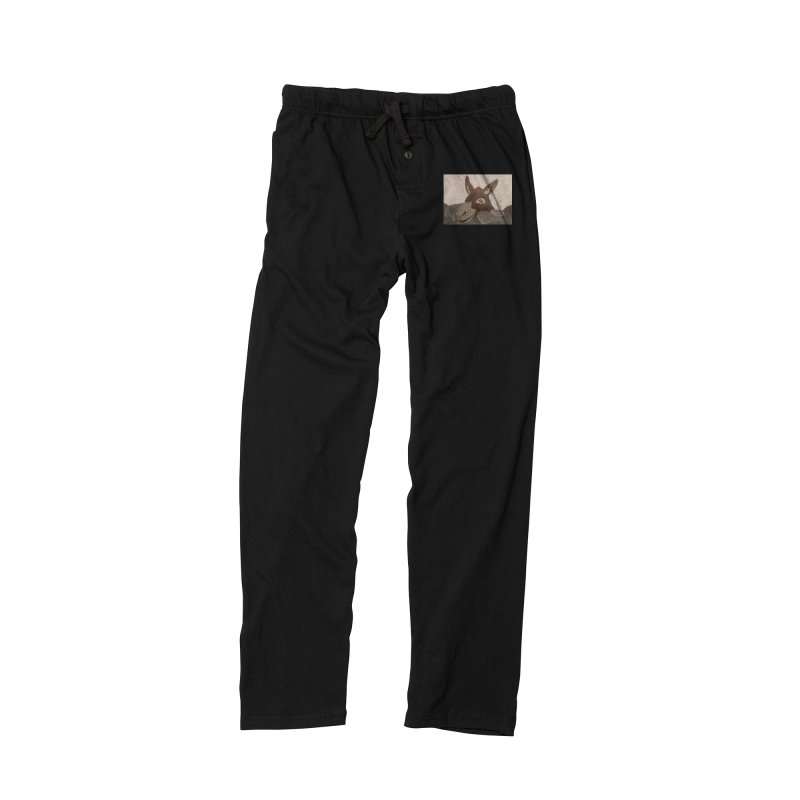 Donkey Women's Lounge Pants by Whimsical Wildlife Wares