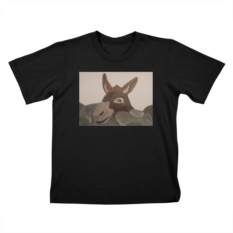Donkey Kids T-shirt by Whimsical Wildlife Wares