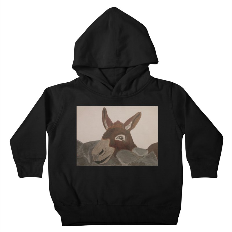 Donkey Kids Toddler Pullover Hoody by Whimsical Wildlife Wares