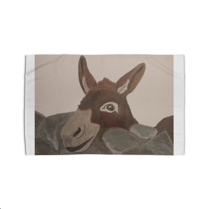Donkey Home Rug by Whimsical Wildlife Wares