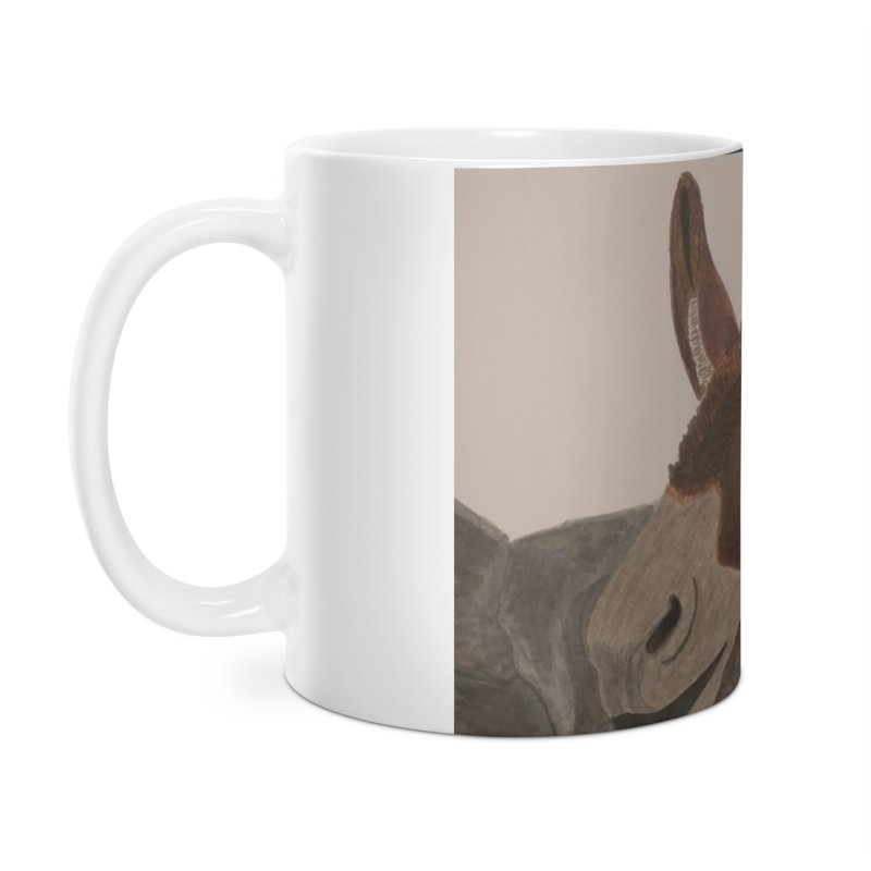 Donkey Accessories Mug by Whimsical Wildlife Wares