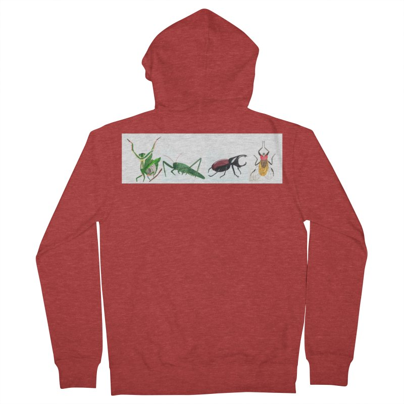 YMCA Men's Zip-Up Hoody by Whimsical Wildlife Wares