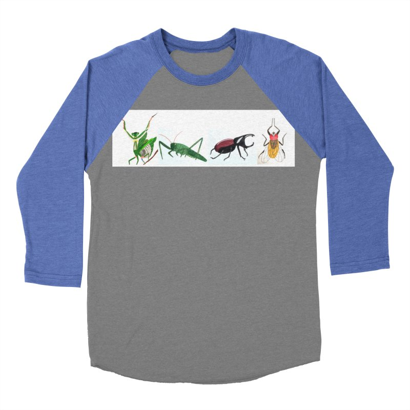 YMCA Women's Baseball Triblend T-Shirt by Whimsical Wildlife Wares