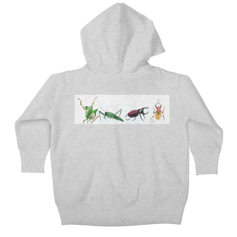 YMCA Kids Baby Zip-Up Hoody by Whimsical Wildlife Wares