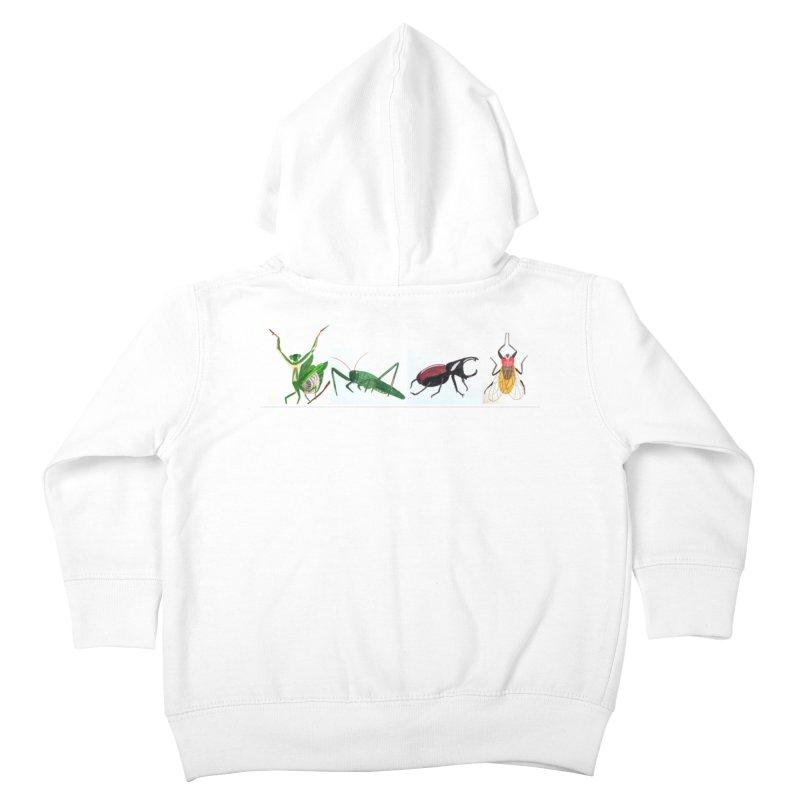 YMCA Kids Toddler Zip-Up Hoody by Whimsical Wildlife Wares