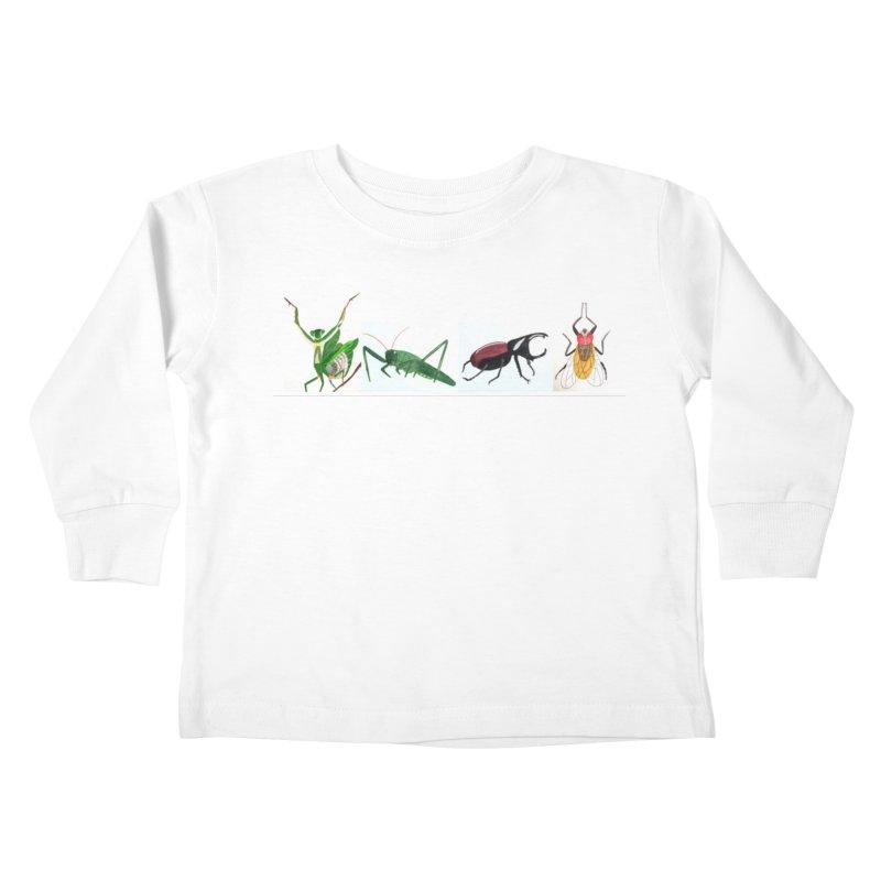 YMCA Kids Toddler Longsleeve T-Shirt by Whimsical Wildlife Wares