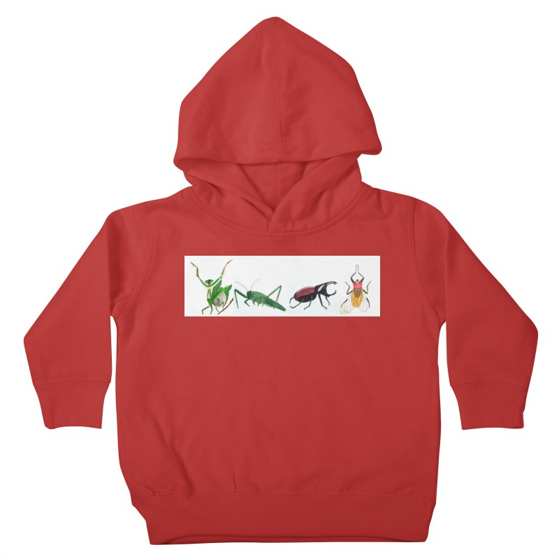 YMCA Kids Toddler Pullover Hoody by Whimsical Wildlife Wares